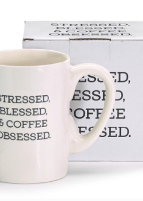Burton and Burton Coffee Obsessed Mug