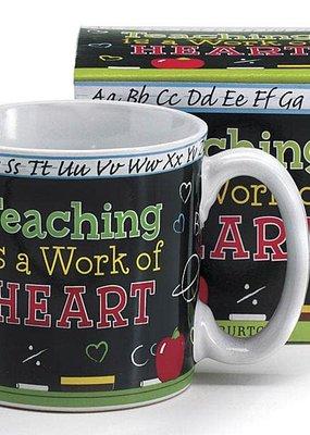 Burton and Burton Teaching Is A Work Of Art Mug