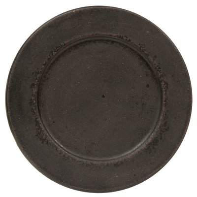 "Mullberry Distressed 8.5"" Candle Plate"