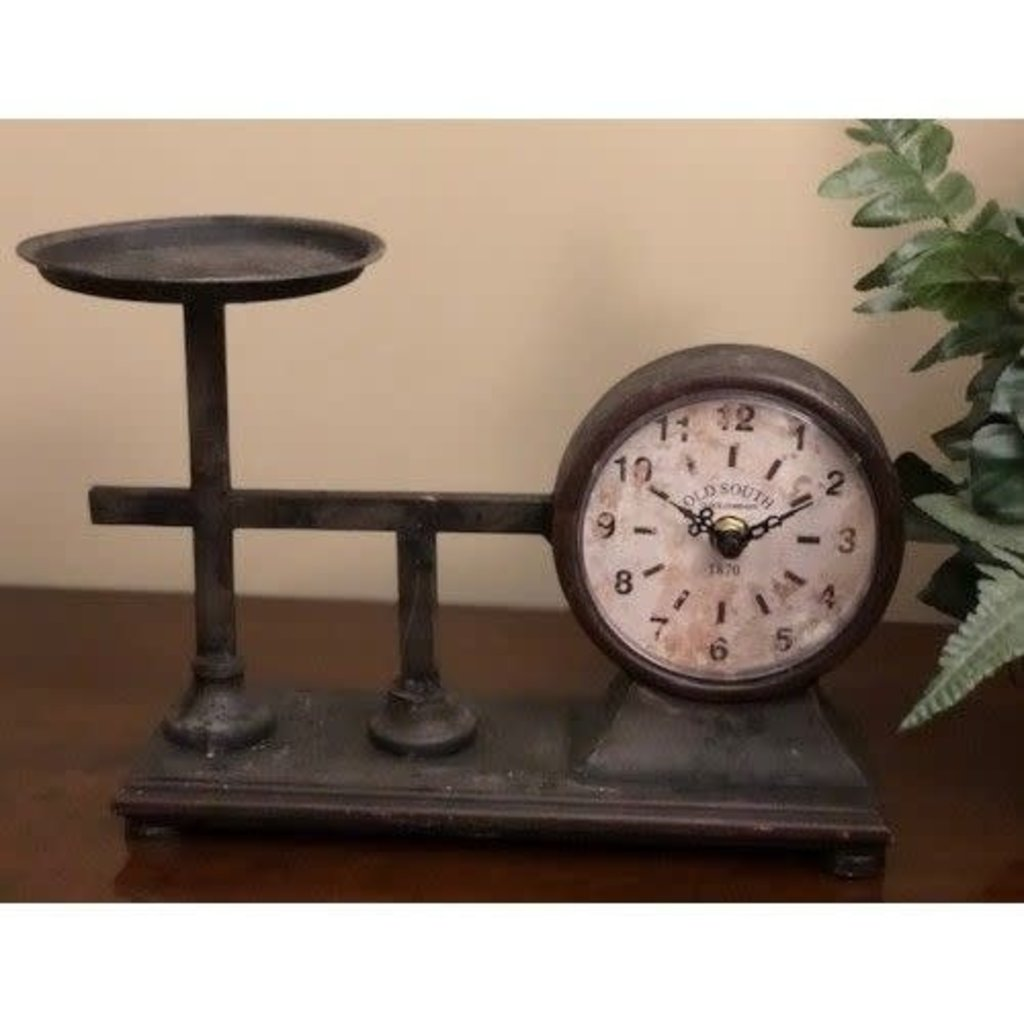 Mullberry Vintage Scale Clock