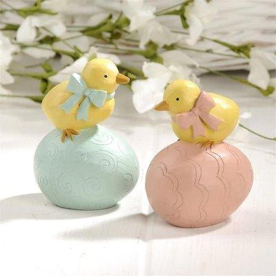 Mullberry Set of 2 Chicks on Eggs