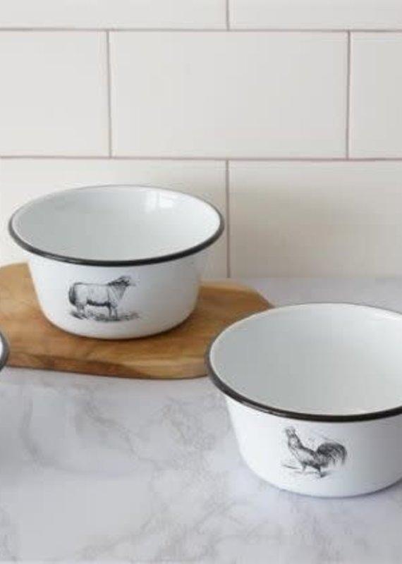 Mullberry Enamelware Animal Bowls