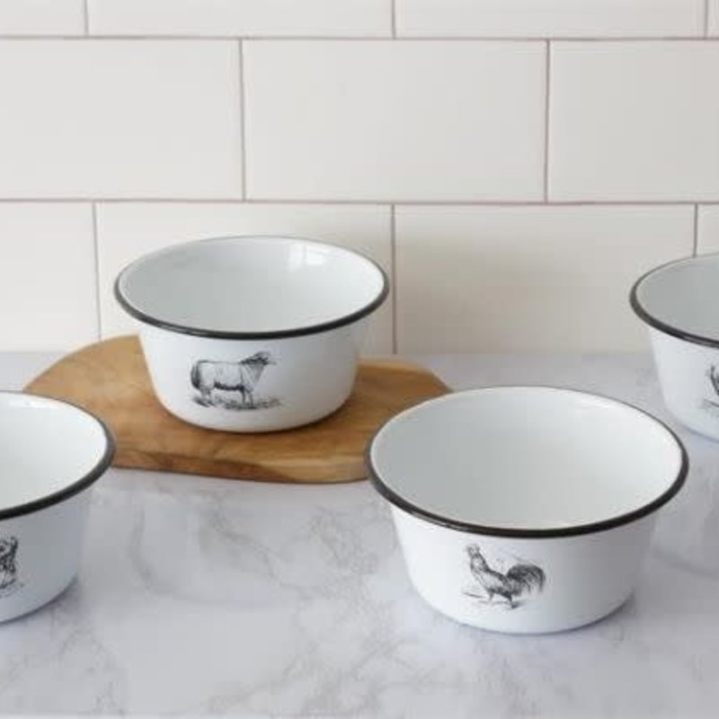 Mullberry Enamelware Animal Bowls