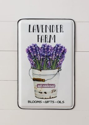 Mullberry Lavender Metal Sign