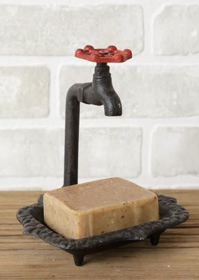 Mullberry Cast Iron Faucet Soap Dish