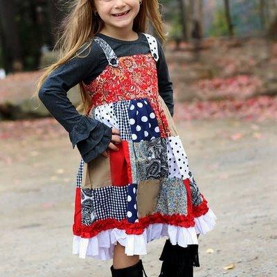 Sissy Mini Girls Hanker-Chief Dress