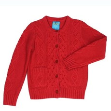 Sissy Mini Girls Knit Cardigan - Red or Black