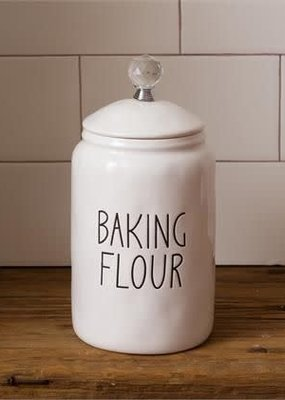 Mullberry Baking Flour Ceramic Canister