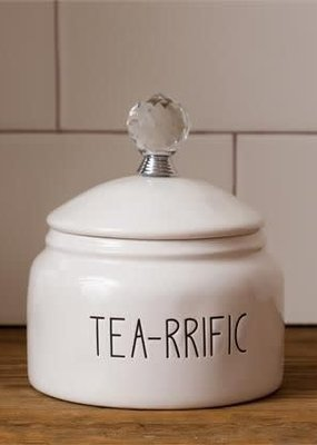 Mullberry Tea-rrific Ceramic Canister