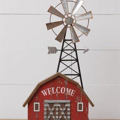 Mullberry Metal Welcome Barn