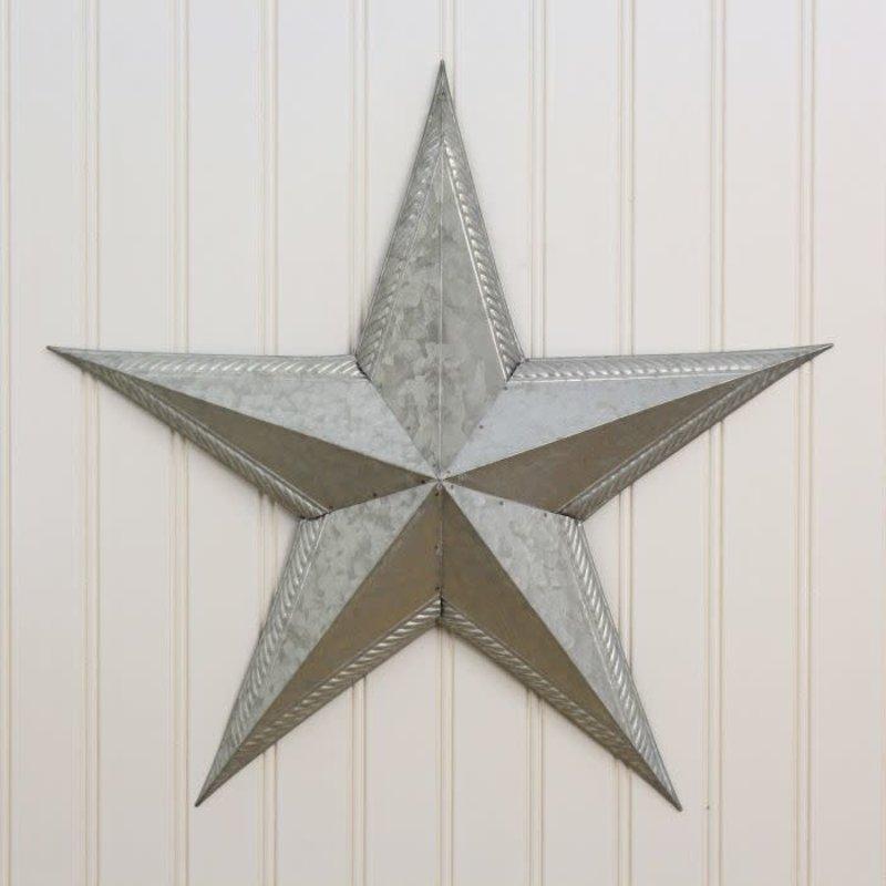 "Mullberry 18"" Galvanized Star"