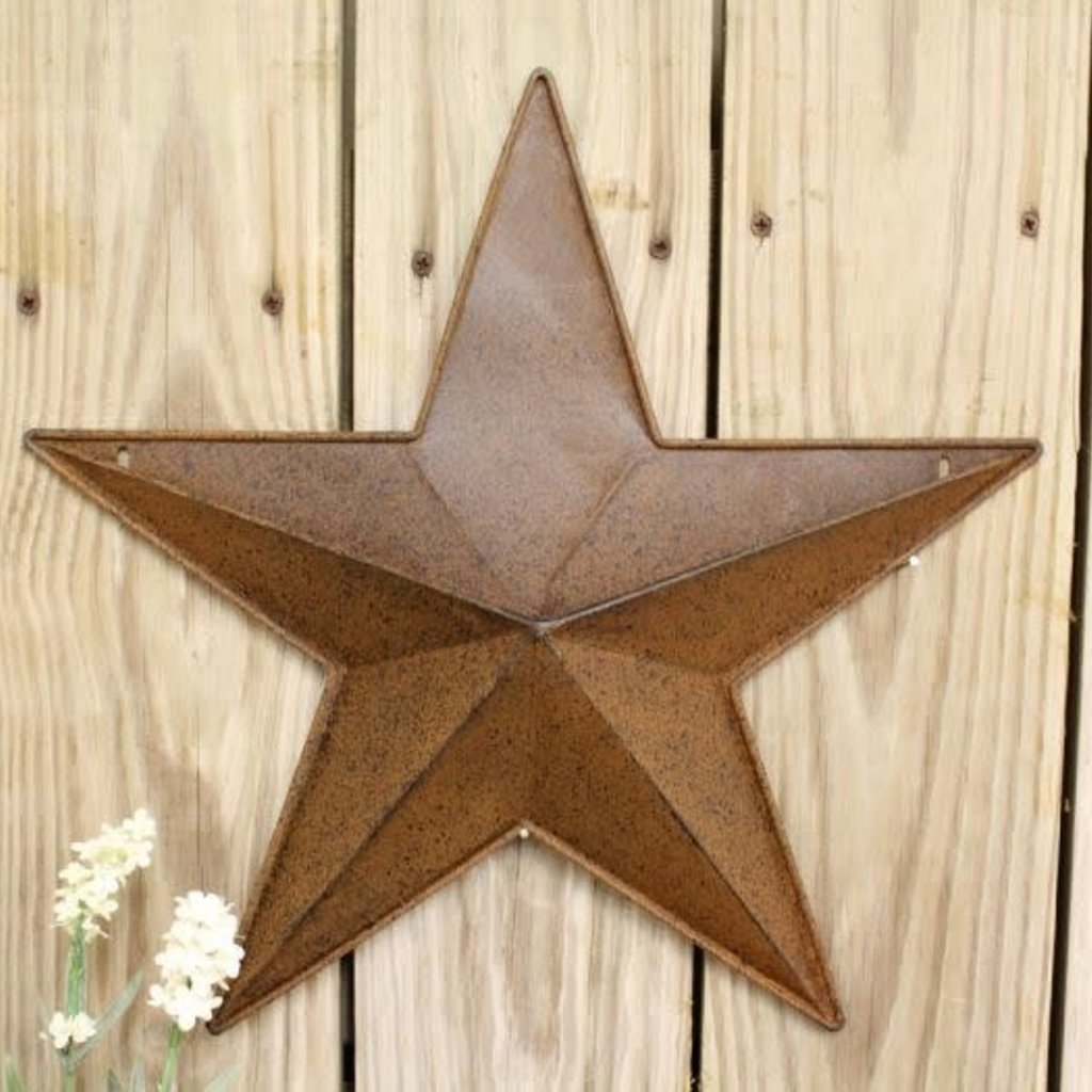 "Mullberry 15"" Rusty Star"