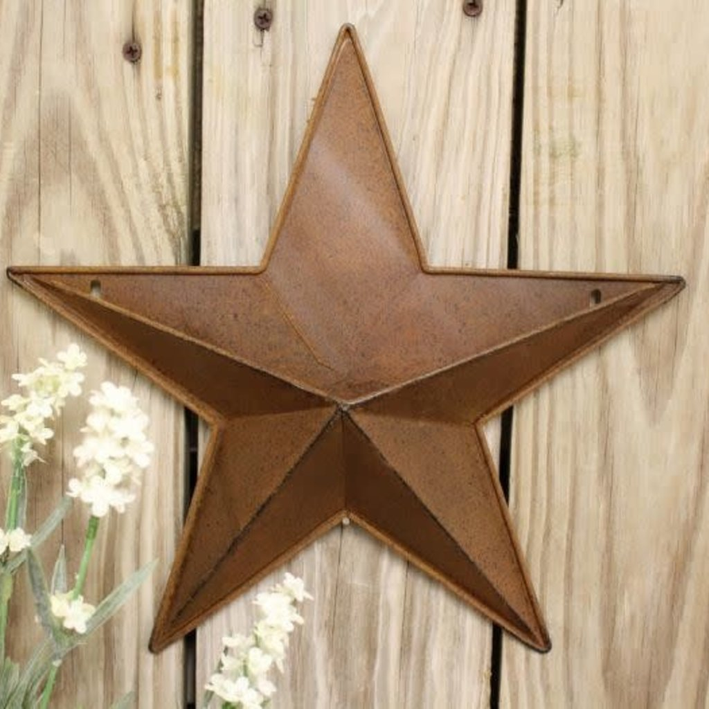 "Mullberry 12"" Rusty Star"