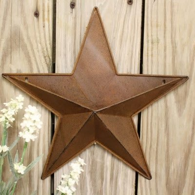 "Mullberry 12"" Rusty Star"