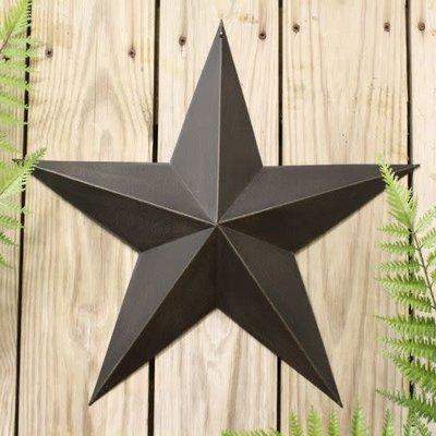 "Mullberry 18"" Antique Black Star"