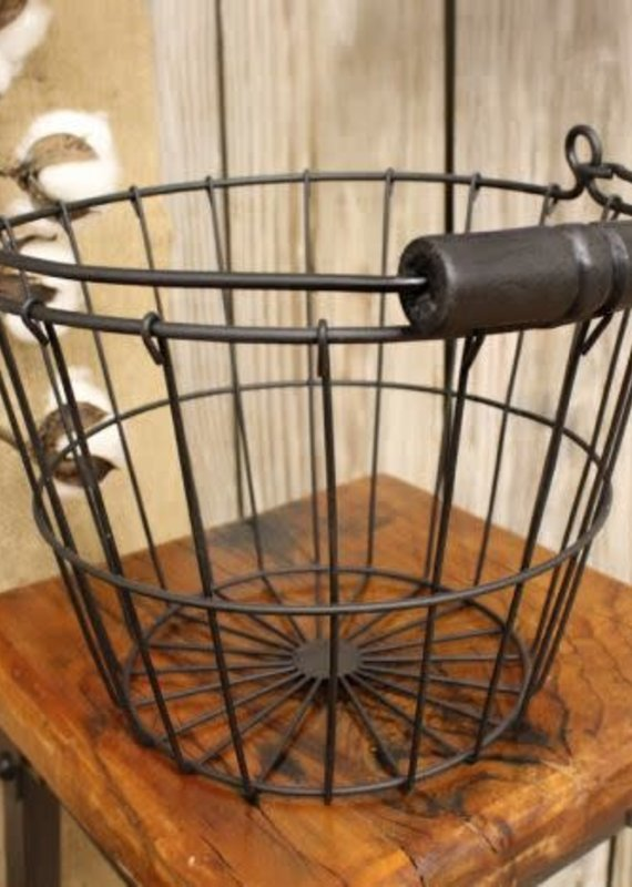 Mullberry Wire Basket With Handle