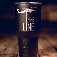 NINE LINE Black 30 oz. Stainless Steel Tumbler - Nine Line