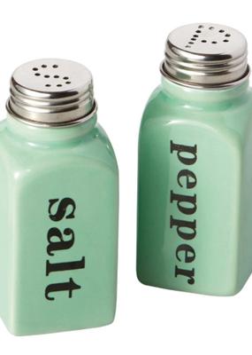 Design Imports Celadon Ceramic Salt & Pepper Shaker