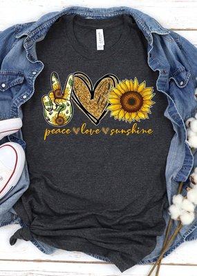LTB Peace Love Sunshine Graphic Tee