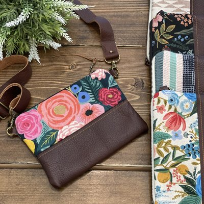 Lilly James Co Lilly James Co. Leather Crossbody