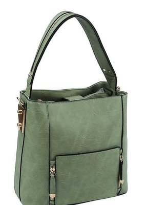 Applejuice Sage Satchel Handbag