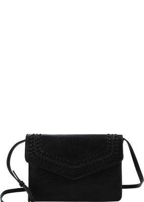 Black Envelope Clutch/Crossbody
