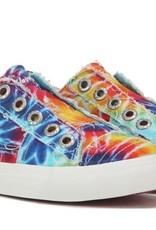 Blowfish Kids Play Rainbow Tie Dye Canvas Sneakers