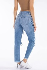 KanCan KanCan Acid Wash High Rise Jeans