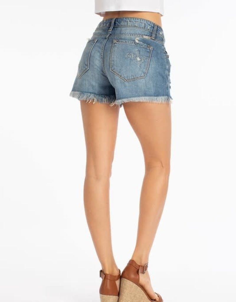 KanCan KanCan Boyfriend Mid-Rise Shorts