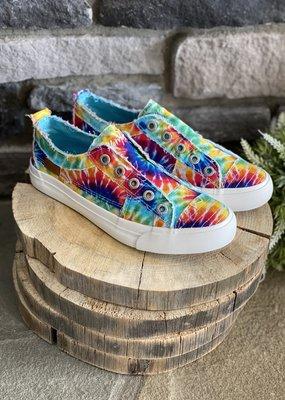 Blowfish Blowfish Rainbow Tie Dye Canvas Sneakers
