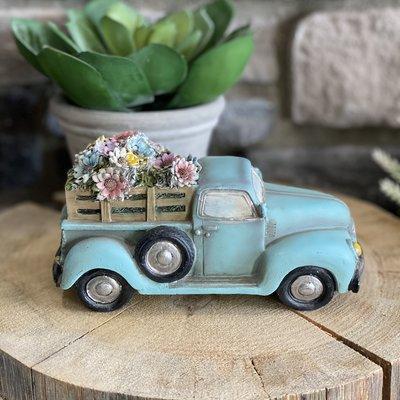 Burton and Burton Blue Flower Truck