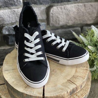 Miami Shoe Black Everyday Sneaker (6-10)