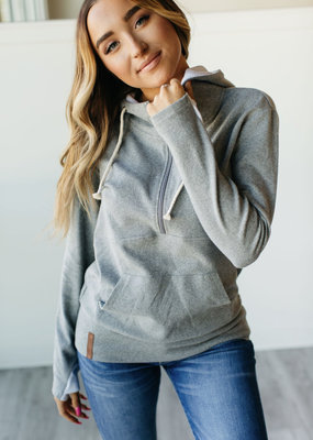 AMPERSAND AVE Stay Home Squad Half-Zip - Ampersand Ave (XS-3XL)