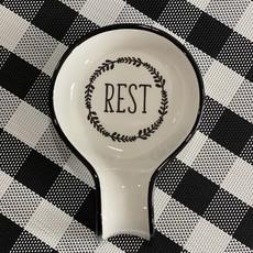 Mullberry Ceramic Spoon Rest