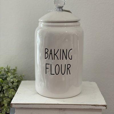 Mullberry Baking Flour Ceramic Canister