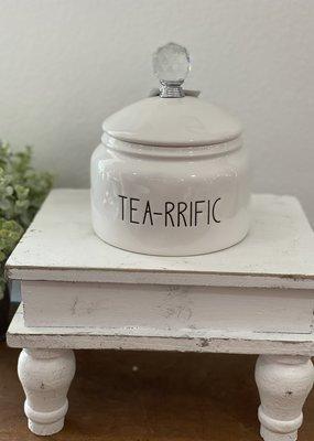 Mullberry Tea-rrific Ceramic Canister