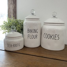 Mullberry Cookies Ceramic Canister