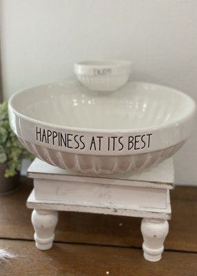 Audrey's Happiness at its Best/Enjoy Chip And Dip Bowl