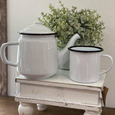 Mullberry Enamelware Teapot