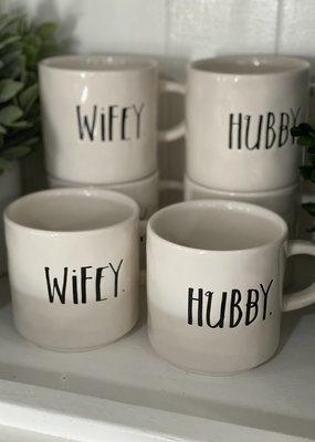 Rae Dunn Rae Dunn Wifey + Hubby Mug Set of 2