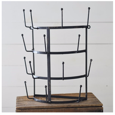 Home & Garden 14 Cup Wall Rack