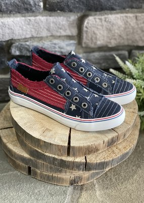 Blowfish Navy Star Blowfish Sneakers