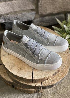 Blowfish Sweet Gray Criss Cross Blowfish Sneakers