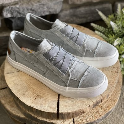 Blowfish Sweet Gray Criss Cross Blowfish Sneakers