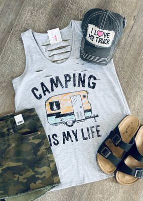 Color Bear Camping is my Life Tank (S-L)