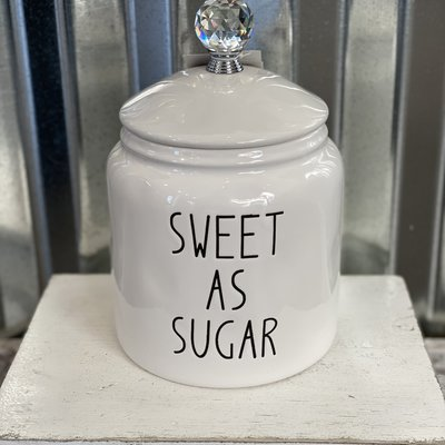Mullberry Sweet As Sugar Canister