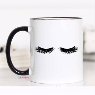 Mugsby Eyelashes Mug