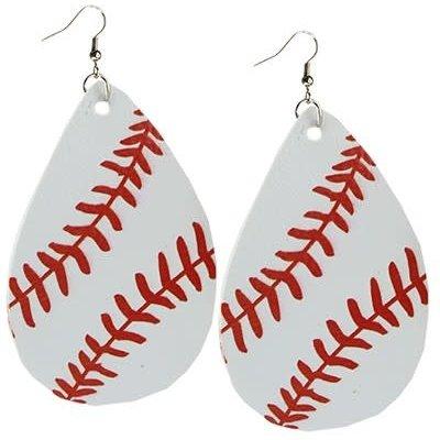 Your Fashion Wholesale Baseball Earrings