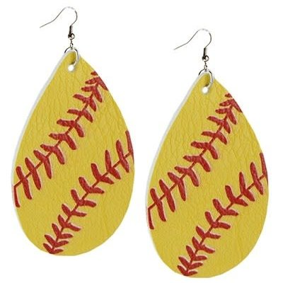 Your Fashion Wholesale Softball Earrings