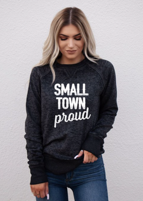 Ocean & 7th Small Town Proud Crew Neck (S-3XL)